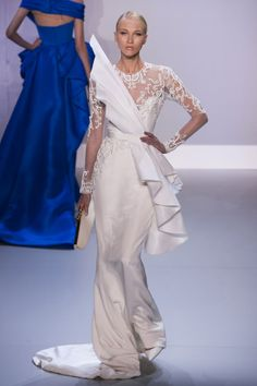 Ralph and Russo Spring 2014 Style Couture, Couture Fashion, Runway Fashion, Fashion Show, Fashion Design, Fashion Week, Dona Karan, Ralph Et Russo, Collection Couture