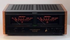 Sony TA-N77ES. 200Wx200W RMS. Love those meters...