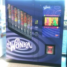 Wonka vending machine!