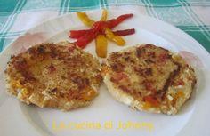Hamburger di patate e peperoni - Ricetta vegetariana