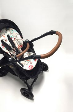 Baby Jogger Versa real leather lace-up covers