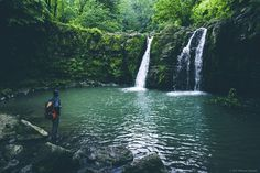 Derazkesh Waterfall, Babol, Mazandaran Province, Iran (Persian: آبشار درازکش , بابل, استان مازندران ) Photo by: Behrouz Hajizade