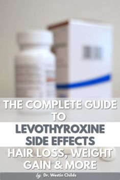 From weight gain to hair loss, this guide will walk you through all of the side effects of levothyroxine and teach you when you need to switch medications. Thyroid Disease Symptoms, Thyroid Diet, Thyroid Issues, Thyroid Problems, Thyroid Health, Autoimmune Disease, Thyroid Cancer, Hypothyroidism Diet, Thyroid Supplements