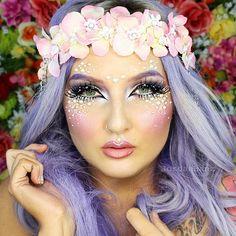 Jordan Hanz Makeup fantasy faerie www.youtube.com/user/jordanhanz