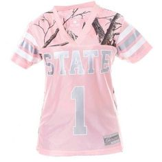 Ncaa Mississippi State Ladies White Game Day Jersey, Women's, Size: Medium