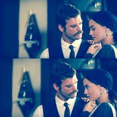 Fahriye Evcen  - Kivanc Tatlitug Murvet & Seyit in the Turkish TV series Kurt Seyit ve Sura 2014