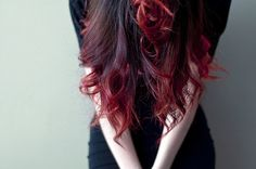 i wanted this for my hair but it's too dark i'd have to bleach my ends then color it.