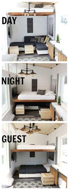 Awesome 85 Awesome Tiny House Interior Ideas https://roomaniac.com/85-awesome-tiny-house-interior-ideas/