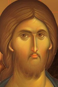 The Icon More images of Jesus Christ… Images Of Christ, Religious Images, Religious Icons, Religious Art, Byzantine Icons, Byzantine Art, Christ Pantocrator, Greek Icons, Jesus Face