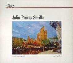 Exposición de óleos de Julio Porras Sevilla en Caja Castilla-La Mancha Diciembre 1997 #CajaCastillaMancha #Cuenca #JulioPorrasSevilla