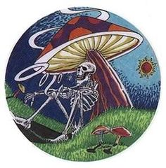- You are in the right place about (notitle) Tattoo Design And Style Galleries On The Net – Are The - Grateful Dead Image, Grateful Dead Poster, Grateful Dead Bears, Skeleton Pics, Hippie Art, Hippie Peace, Peace Art, Mushroom Art, Band Posters