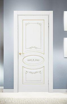 Межкомнатная дверь «Барселона». Отделка «белая эмаль» #дверирулес #двери #межкомнатные homedesign