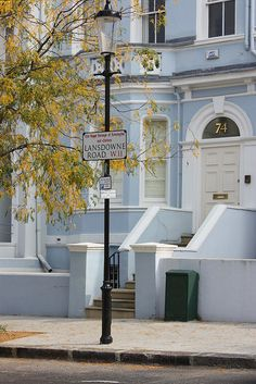 Victorian Pastel house, Notting Hill, London UK  by NL-DUX, via Flickr