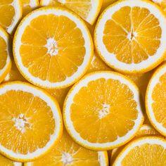 Sliced orange background. Food and drink by ollinka
