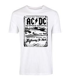 AC DC Graphic Printed T Shirt Men s 1be99483a15