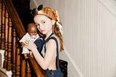 Little Mama a new Junior Style kids fashion editorial, focusing on motherhood and all its roles by Meg Stacker and Jill Rothstein.