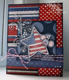 Patriotic Cocoa SNSSHD47 by merrymstamper - Cards and Paper Crafts at Splitcoaststampers