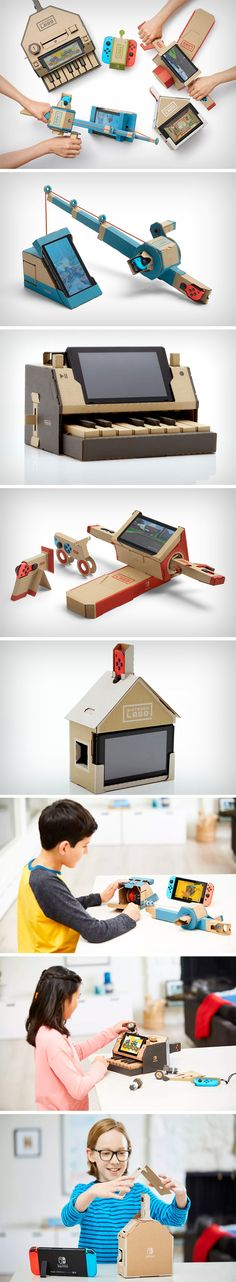 Nintendo brings that beautiful intimacy and analog nature of toys back with the Labo, a series of cardboard cutouts that fold to become elaborate objects that house Nintendo's Switch controllers and screen, using them in a way never thought of before. Labo comes as a series of cardboard maps that require folding and assembly… a tactile experience that seldom comes by children in these digital days. The kits allow you to build everything from elaborate toys to even instruments.
