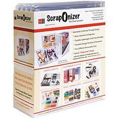 @Overstock - Phenomenal organizational system works in every room of your houseScrapbooking organizer is economical, easy, unobtrusive and versatileScraponizer includes four tool box cases with removable compartment trayshttp://www.overstock.com/Crafts-Sewing/Scraponizer-4-case-Toolbox-Organizing-System/3954508/product.html?CID=214117 $24.49