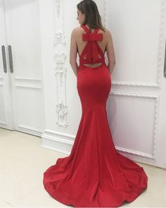 Simple Prom Dresses, mermaid prom dress bow back prom dress satin prom dress burgundy evening gowns sexy prom dress LBridal Pageant Dresses For Teens, Classy Prom Dresses, Fitted Prom Dresses, Elegant Bridesmaid Dresses, Plus Size Prom Dresses, Homecoming Dresses, Dresses Uk, Fashion Dresses, Graduation Dresses