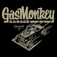 Logo de gas monkey