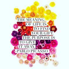PABLO PICASSO's wisdom  _____________ [#m_eye_nd]  [#wizdomly]  [#FreeYourMeyeND] [#quotes]  [#inspiration]  [#HigherAwakening]  [#PLUR]  [#india]  [#instagood]  [#instadaily]  [#freeyourmind]  [#1ove]