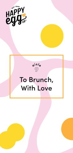 To Brunch, With Love