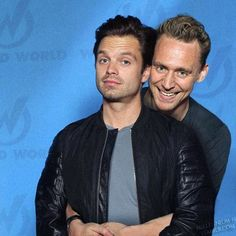 This is so adorable. The looks of both of them. Tom: Hes mine alone! Seb: Jepp, i am!