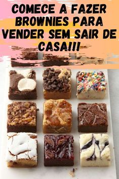 - Aprenda como fazer brownies para vender e lucre mais de a cada receita Yellow Things yellow and black spider Gooey Brownies, Best Brownies, Best Brownie Recipe, Brownie Recipes, Brownie Delivery, Confort Food, Scones Ingredients, Brownie Cookies, Brownie Logo