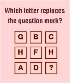 Solve The Letter Puzzles - Brain Teasers Logic Math, Math Jokes, Jokes And Riddles, Tricky Questions, Math Questions, Maths Puzzles, Puzzles For Kids, Brain Teasers For Kids, Travel Ads