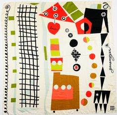 Gene Meyer scarf  Doug and Gene Meyer Studio