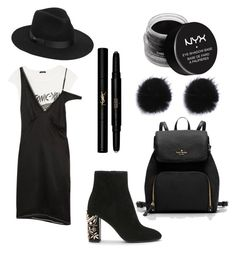 """""""Untitled #4"""" by alonafrolova00 on Polyvore featuring R13, Lack of Color, NYX and Yves Saint Laurent"""
