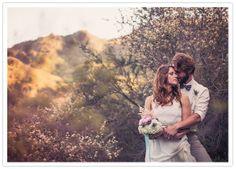 romantic malibu bridal session