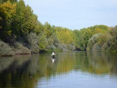 El otoño se acerca y los grandes #ríos se hacen accesibles.