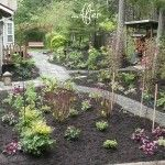 What a difference a path makes! Aiming to make a garden for birds and wildlife, Christy Scerra and Hannah Taylor of Serenity Gardens in Tacoma, Washington added paths, plants, baths and tiny houses...