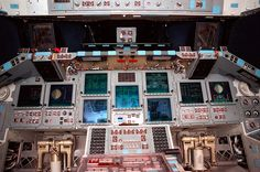 Space Shuttle Cockpit - NASA photo