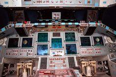 Space Shuttle Cockpit - NASA photo