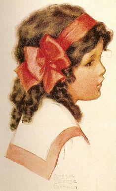 Bessie Pease Gutmann Illustration