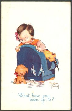 Beatrice Mallet postcard