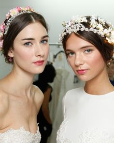 """See the """""""" in our 4 Flower-Filled Wedding Hairstyles From the Bridal Shows  gallery"""