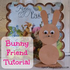 Upcycled Easter Bunny Craft