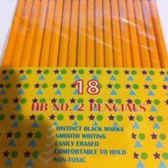 16 count #2 pencil Case of 72
