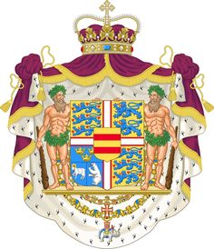 Coat of Arms of Frederik, the Crown Prince of Denmark