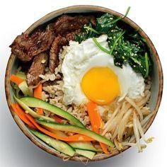 Korean Recipes: Bibimbap with Beef Bulgogi | Women's Health Magazine