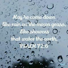 Psalm.  72:6 Storm Surge, Christian Encouragement