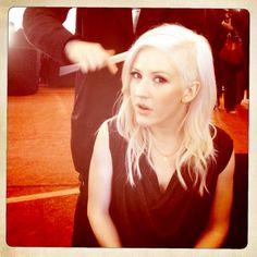 Ellie Goulding - rockin that hair <3