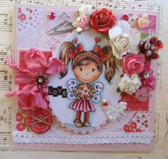 New Love Bug Emma available here: http://stamps.the-papernest.com/  DT Patricia