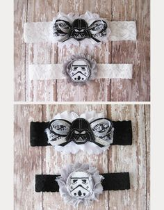 Star Wars garters ~ we ❤ this! moncheribridals.com