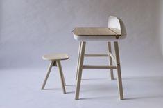 Shell Desk  http://www.studiogorm.com/shell-desk/    Also take a look at:  15 Modern Small Home Office Desks  http://vurni.com/modern-small-home-office-desks/