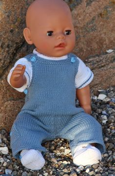 Knitting patterns for dolls Baby Born Clothes, Boy Doll Clothes, Knitting Dolls Clothes, Knitted Dolls, Doll Clothes Patterns, Doll Patterns, Baby Boy Knitting Patterns, Baby Patterns, Crochet For Boys